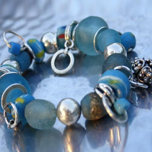Bijoux en métal argenté